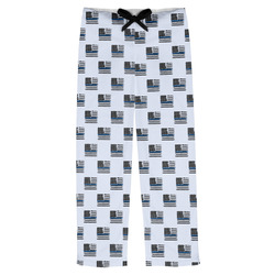 Blue Line Police Mens Pajama Pants (Personalized)
