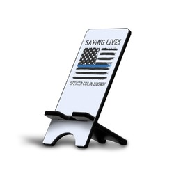 Blue Line Police Cell Phone Stands (Personalized)