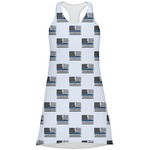Blue Line Police Racerback Dress (Personalized)