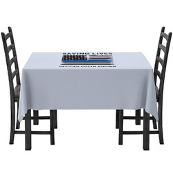 Blue Line Police Tablecloth (Personalized)