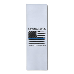 Blue Line Police Runner Rug - 3.66'x8' (Personalized)