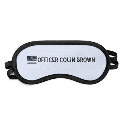 Blue Line Police Sleeping Eye Mask (Personalized)