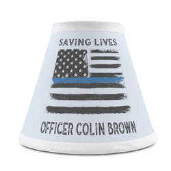 Blue Line Police Chandelier Lamp Shade (Personalized)