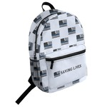 Blue Line Police Student Backpack (Personalized)