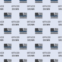 Blue Line Police Wrapping Paper (Personalized)