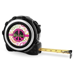 Peace Sign Tape Measure - 16 Ft (Personalized)