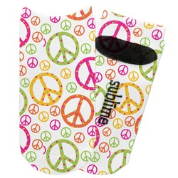 Peace Sign Adult Ankle Socks (Personalized)