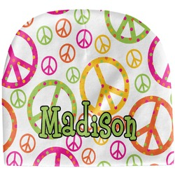 Peace Sign Baby Hat (Beanie) (Personalized)
