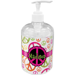 Peace Sign Soap / Lotion Dispenser (Personalized)