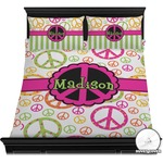 Peace Sign Duvet Covers (Personalized)