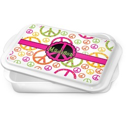 Peace Sign Cake Pan (Personalized)