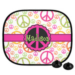 Peace Sign Car Side Window Sun Shade (Personalized)