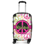 Peace Sign Suitcase (Personalized)