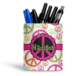 Peace Sign Ceramic Pen Holder