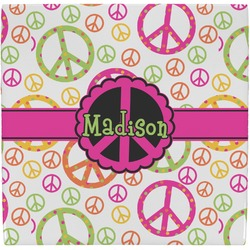 Peace Sign Ceramic Tile Hot Pad (Personalized)