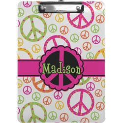 Peace Sign Clipboard (Personalized)