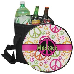 Peace Sign Collapsible Cooler & Seat (Personalized)