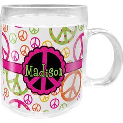Peace Sign Acrylic Kids Mug (Personalized)