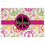 Peace Sign Placemat (Laminated) (Personalized)