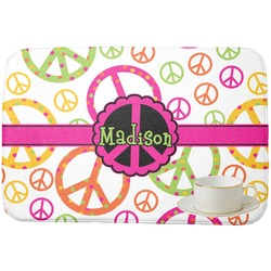 Peace Sign Dish Drying Mat (Personalized)