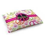 Peace Sign Dog Bed (Personalized)