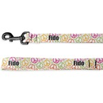 Peace Sign Deluxe Dog Leash (Personalized)