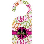 Peace Sign Door Hanger (Personalized)