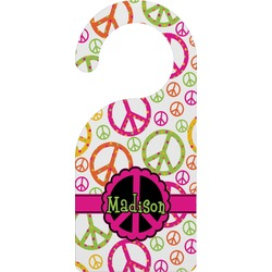Peace Sign Door Hanger (Personalized)