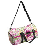 Peace Sign Duffel Bag (Personalized)