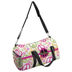 Peace Sign Duffel Bag - Multiple Sizes (Personalized)