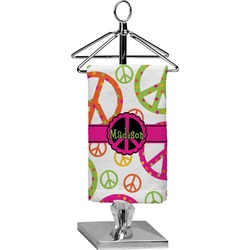 Peace Sign Finger Tip Towel - Full Print (Personalized)