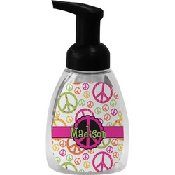 Peace Sign Foam Soap Dispenser (Personalized)