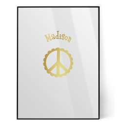 Peace Sign Foil Print (Personalized)