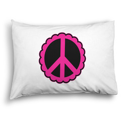 Peace Sign Pillow Case - Standard - Graphic (Personalized)