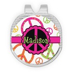Peace Sign Golf Ball Marker - Hat Clip