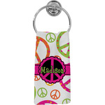 Peace Sign Hand Towel - Full Print (Personalized)