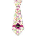 Peace Sign Iron On Tie - 4 Sizes w/ Name or Text