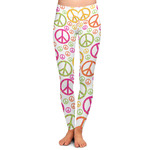 Peace Sign Ladies Leggings (Personalized)
