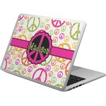 Peace Sign Laptop Skin - Custom Sized (Personalized)