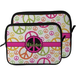 Peace Sign Laptop Sleeve / Case (Personalized)
