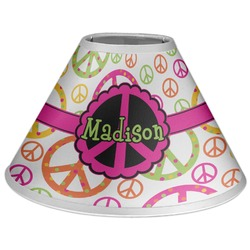 Peace Sign Coolie Lamp Shade (Personalized)