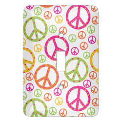 Peace Sign Light Switch Covers - Multiple Toggle Options Available (Personalized)