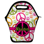 Peace Sign Lunch Bag w/ Name or Text