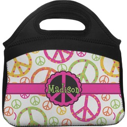 Peace Sign Lunch Tote (Personalized)