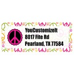 Peace Sign Return Address Labels (Personalized)