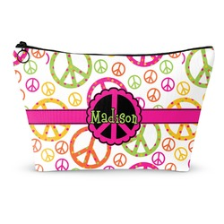 Peace Sign Makeup Bags (Personalized)
