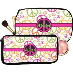 Peace Sign Makeup / Cosmetic Bag (Personalized)