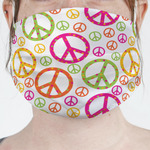 Peace Sign Face Mask Cover (Personalized)