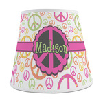 Peace Sign Empire Lamp Shade (Personalized)