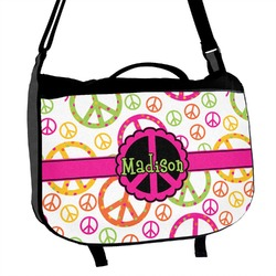 Peace Sign Messenger Bag (Personalized)